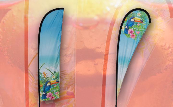 Neues Produkt: Beachflags
