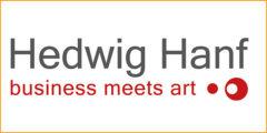 Logo - Hedwig Hanf - Business Meets Art