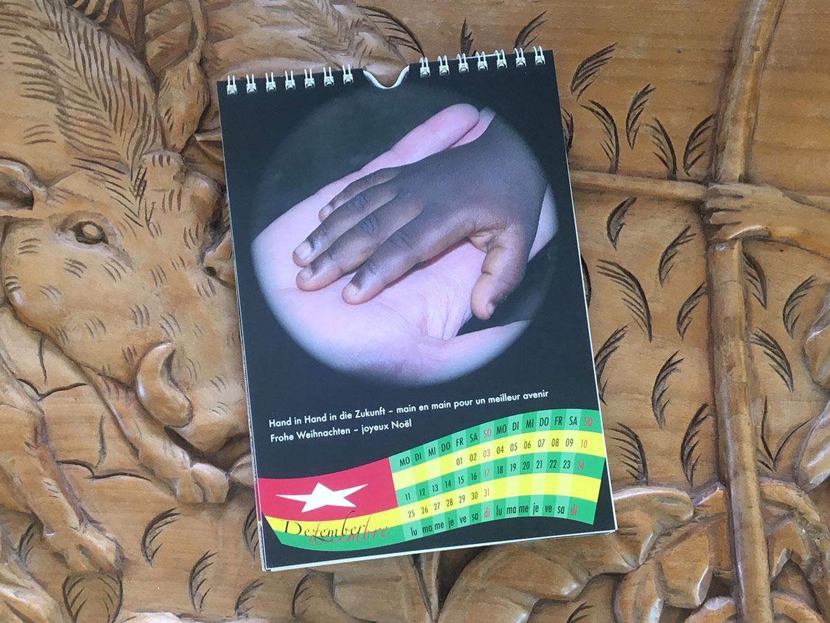 Das Dezember-Blatt des Togo-Kalenders von 2006