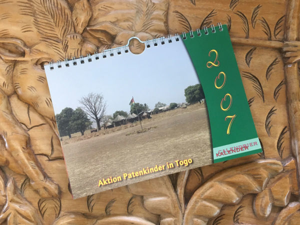 Das Titelblatt des Togo-Kalenders 2007