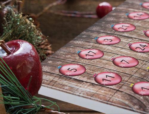 Schoko-Adventskalender gestalten und drucken lassen
