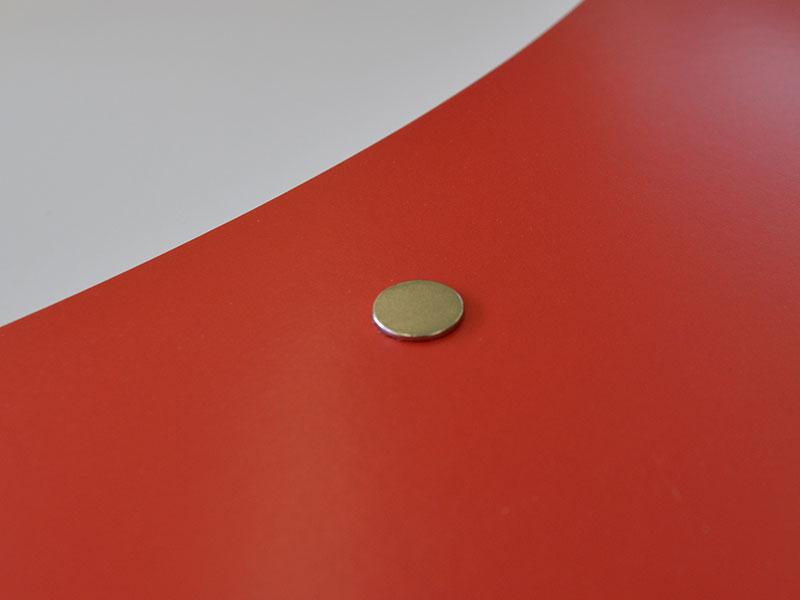 Mappe A4 - Premium - Magnetpunkt zum verschließen