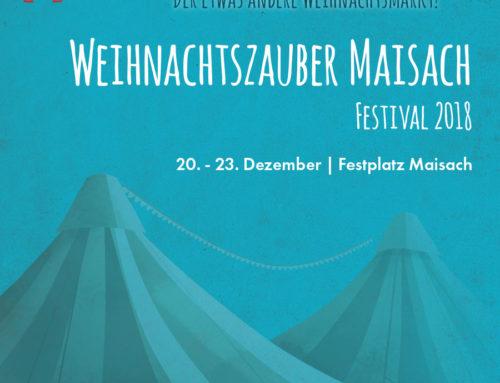"""Programm-Flyer """"Weihnachtszauber Maisach 2019"""""""