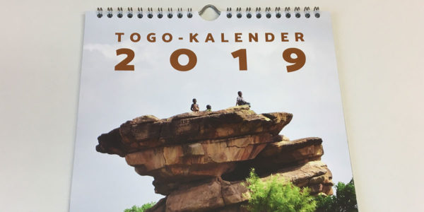 Gestaltung des Togo-Kalenders 2019