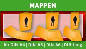 Mappen in DIN-Größen drucken lassen