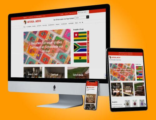 Website – Afrika ist mehr