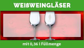 Weißweingläser gestalten und drucken lassen