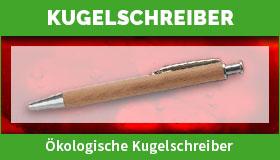 Ökologische Kugelschreiber gestalten und drucken lassen