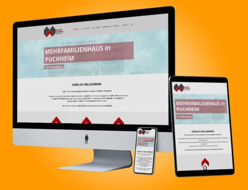 Website – Meister Wohnbau