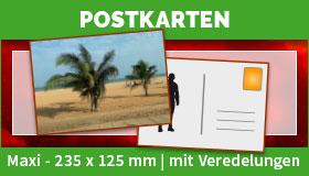 Maxi-Postkarten im Format 235 x 125 mm drucken lassen