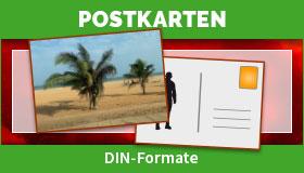 Postkarten in den DIN-Formaten drucken lassen